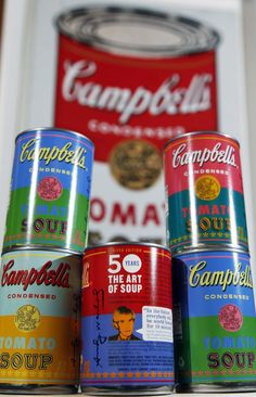 New Andy Warhol limited edition Campbell's soup for Target
