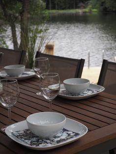 Lifestyle-blogi - Willa Lemmelle : Mökkikauden päätös, Venetsialaiset Table Settings, Place Settings, Tablescapes