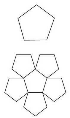 Free English Paper Piecing Pentagon Bowl Pattern