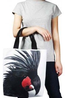 Comprar bolsa-estampada-com-cacatua-negra-usenatureza