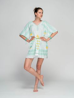 Niso, the Greek sea nymph who loved the creation and beauty of greek islands, is revived through the modern brand for women's clothes and accessories by unique fabrics. Cover Up, Short Sleeve Dresses, Clothes For Women, Unique, Fabric, Beauty, Collection, Fashion, Outerwear Women