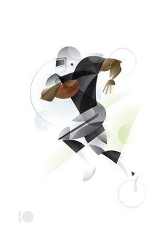 Geometric Sport Illustrations Designer:Matt Stevens Source: Trouge