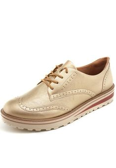 3c4d407b3 Oxford Ramarim Liso Dourado - Marca Ramarim Brasil, Sapatos, Vestimenta  Masculina, Sapatos Formais