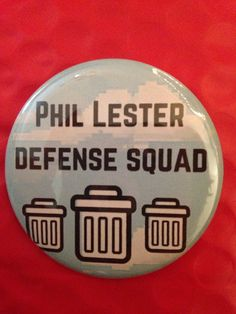 Phil Lester 2.5 Inch Pinback Button
