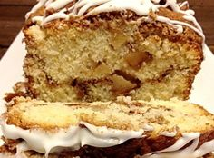 Apple Fritter Cinnamon Bread