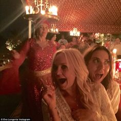 Spice Girls Posh, Sporty, Baby and Ginger reunite without Scary #dailymail