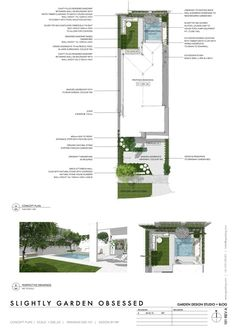 garden design — Slightly Garden Obsessed Perspective Images, Perspective Drawing, Schematic Design, Plan Sketch, Planting Plan, Garden Design Plans, Plan Drawing, Detailed Drawings, Pool Designs