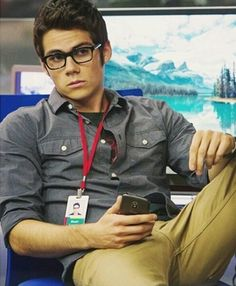"Dylan O'Brien in ""The Internship"". Of course I'm watching it for the comedy!"