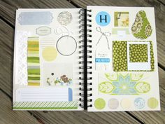 love the idea of a journal where you keep scraps that inspire you.