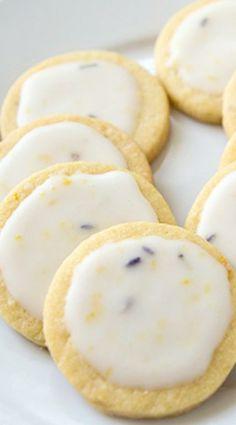 Lavender Lemon Sablé