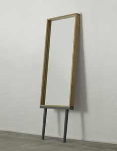 Hans Long-Legged Mirror, oak - All Venice House, Long Legs, Home Accessories, Sconces, Wall Lights, Objects, Architecture, Mirrors, Furniture