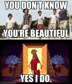 Of course you do, Kuzco. Of course you do.