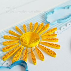 Bright Sunshine - quilled by: Zdenka
