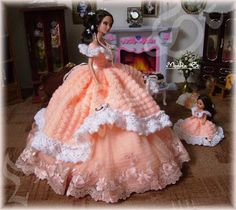 My Crochet gown for barbie doll - Monika St - Picasa Web Albums