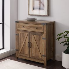 Free 2-day shipping. Buy Manor Park Farmhouse Reclaimed Barnwood Barn Door Accent Cabinet at Walmart.com Storage Design, Shoe Storage, Table Furniture, Flip Furniture, Rustic Furniture, Furniture Design, Metal Drawers, Wood Dust, Grey Wash