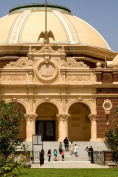 Natural History Museum in Los Angeles, California.