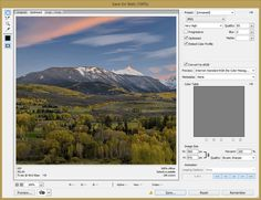 Photoshop Save for Web