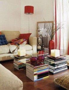 EcoNotas.com: Mesas de centro recicladas, muebles ecológicos, decoración barata