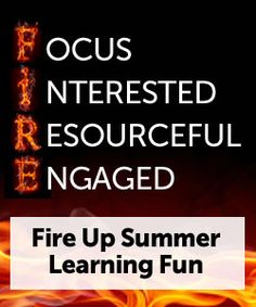 """Fire Up for a Red Hot Summer of Learning"" on Virtual Learning Connections http://www.connectionsacademy.com/blog/posts/2013-05-20/Fire-Up-for-a-Red-Hot-Summer-of-Learning.aspx #summerlearning #onlineschool #homeschool"