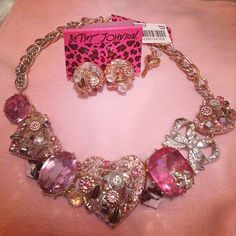 .@cassandraannexo | the perks of having a mum that works in jewelry #betseyjohnson #bj #hearts #... | Webstagram - the best Instagram viewer
