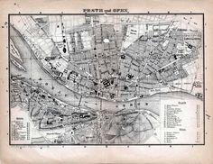 Budapest Budapest, Henry Huggins, Prague, Vienna, Places Ive Been, Vintage World Maps