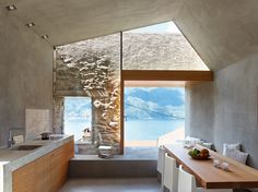kitchen in a house in Scaiano / renovated by Wespi de Meuron Romeo architects