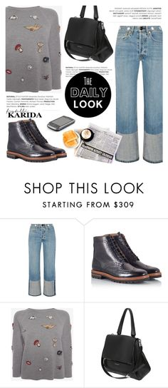 """""""The daily look!"""" by helenevlacho ❤ liked on Polyvore featuring rag & bone, Parlanti, Alexander McQueen, Givenchy and FratelliKarida"""