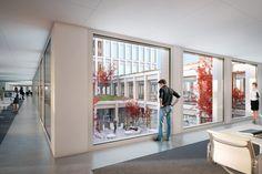 wiel arets wins competition to design europaallee site D in zurich - designboom | architecture & design magazine