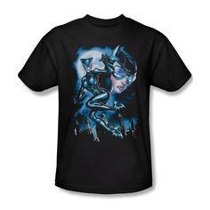 Batman Catwoman Gotham City DC Comics Ladies Jr V-Neck Men L/S Tank Top T-shirt