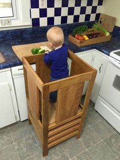 how to build a kitchen helper learning tower my mommy collection rh pinterest com learning tower kitchen helper uk learning tower kitchen helper kits