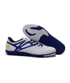 separation shoes 74511 09aa4 Adidas MESSI 15.3 IN botas de fútbol blanco azul