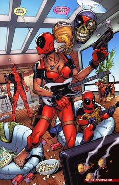 #Lady #Deadpool #Fan #Art. (The Pool Family) By:V1EWT1FUL. (THE * 5 * STÅR * ÅWARD * OF: * AW YEAH, IT'S MAJOR ÅWESOMENESS!!!™) ÅÅÅ+