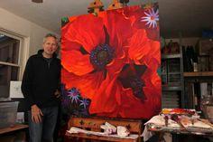 Simon Bull large poppy...