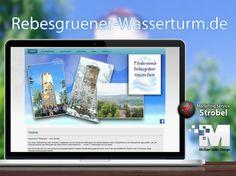 Rebesgrüner Wasserturm by Michael Gahn Design - Ihre Full Service Werbeagentur aus Plauen im Vogtland
