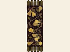 Wool Appliqué :: Wool Appliqué Patterns & Kits :: Anjou Pears Applique Pattern - The Merry Hooker Woolens