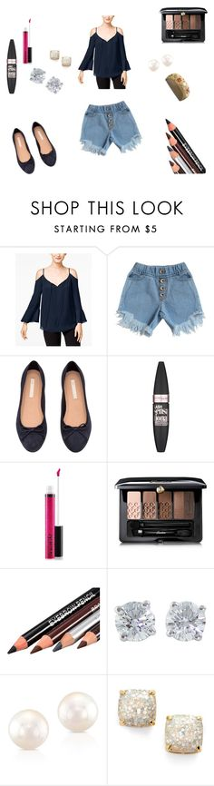 """Dress down"" by dadacollins on Polyvore featuring INC International Concepts, Maybelline, MAC Cosmetics, Guerlain, Tiffany & Co., Anne Sisteron and Kate Spade"