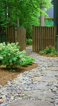 Landscaping A Dry River Bed Design Ideas, Pictures, Remodel, and Decor -