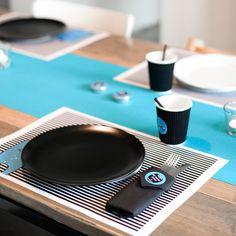 Opgelet: feestgevaar met deze blauwe Mega Monster servetstickers – Beaublue #stickers #napkins #megamonster #beaublue