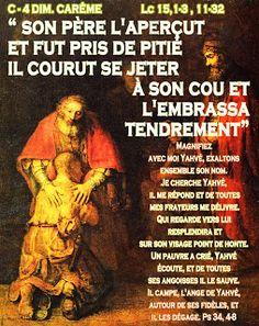 PAROLE -  année  liturgique C (images  et PAROLE) : C - 4 DIM. CARÊME