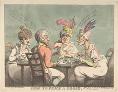 How to Pluck a Goose  Thomas Rowlandson (British, London 1757–1827 London)  Date: June 10, 1802  Accession Number: 59.533.831