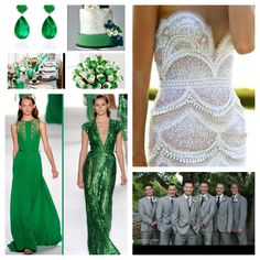 Emerald Green Wedding Theme