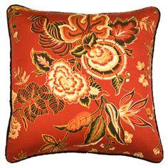 Rose Tree Carlton Square Decorative Pillow #odotco #overstock