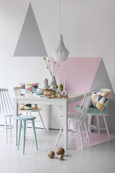 Покраска стен, сочетание цветов