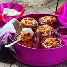 Apfelkuchen im Glas serviert und 87.000 weitere Rezepte entdecken auf DasKochrezept.de