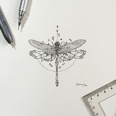 Geometric Beasts | Dragonfly