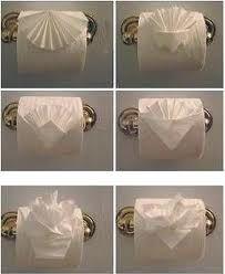 toilet paper origami - Google zoeken