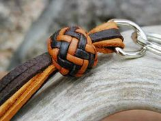 Braided Leather Keychains                                                       …