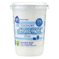 AH Griekse yoghurt 0% 5,5 g eiwitten per 100 g