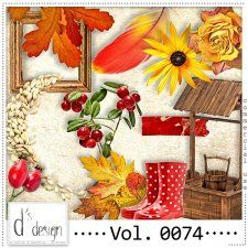 Vol. 0074 - Autumn Nature Mix  by Doudou's Design  cudigitals.com cu commercial scrap scrapbook digital graphics#digitalscrapbooking #photoshop #digiscrap