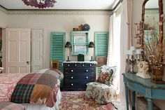 See how this interior designer surrounds herself with timeworn treasures she loves.